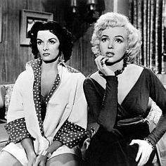 'Gentlemen Prefer Blondes' is a musical comedy film made in 1953, directed by Howard Hawks and starring Marilyn Monroe and Jane Russell.