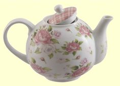 Find some cheap rose teapots at op shop or plain ones with rose stickers stuck on to serve rosy tea (pink lemonade/cordial) in