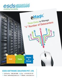 "Manage ""n"" number of #Datacenters with @ESDS #eMagic, the #Enterprise #Datacenter Management Suite.  #DCIM  Check more here: https://www.esds.co.in/emagic.php"