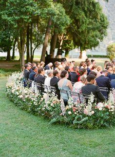 Last Row of Ceremony Chairs
