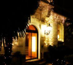 L'ingresso natalizio