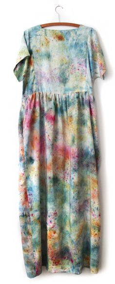 Silk Field Dress / Painted Garden by STATE