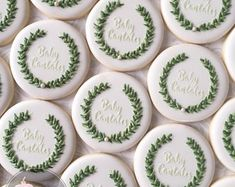 This listing is for one dozen delicious decorated cookies approximately Baked fresh with the finest, fresh ingredients and decorated with a vanil… – Baby Shower Baby Cookies, Baby Shower Cookies, Iced Cookies, Royal Icing Cookies, Yummy Cookies, Cupcake Cookies, Sugar Cookies, Cookies Et Biscuits, Wedding Cookies