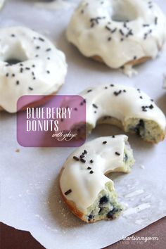 Hearts in My Oven: Baked Blueberry Donuts @Lynna H