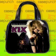 An5-kix Blow My Fuse Rock Band Handbag Purse Woman Bag Classic
