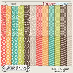GingerScraps :: Bundled Goodies :: #2016 August - Bundle Collection