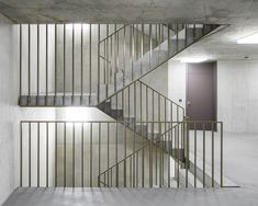 Staircase Railings, Staircase Design, Stairways, Steel Stairs Design, Stair Decor, Toilet Design, Bern, Home Projects, Exterior