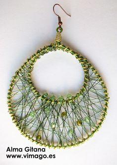 =) string art