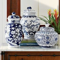 Chinoiserie Chic: Williams-Sonoma Home Ginger Jars