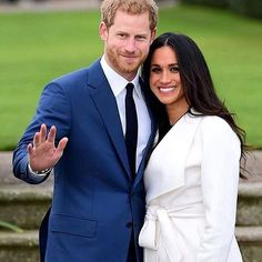 Meghan Markle and Prince Harry Announce their engagement at Kensington Palace Prince Harry And Meghan, Princess Charlotte, House Prices, Meghan Markle, Toronto, Suit Jacket, Celebs, Instagram Posts, Royals