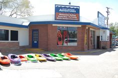 The outside of the Ft. Collins shop. #RMArafting #RMAshop #FortCollins