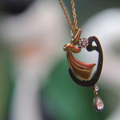 SEMAZEN, VAV VE ELMASIN EŞSİZ BULUŞMASI Pendant Necklace, Photo And Video, Instagram, Jewelry, Jewlery, Jewerly, Schmuck, Jewels, Jewelery