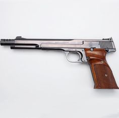 SMITH & WESSON MODEL 41: This semi-automatic pistol was introduced in 1957 and is still a strong contender at shooting ranges across America.