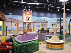 pretend city, an awesome play place for kids in Irvine CA