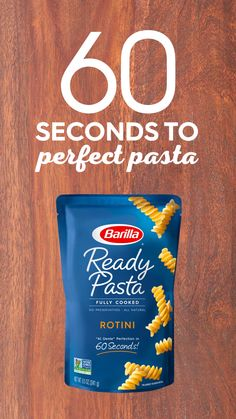Save this recipe for a quick Rotini #pasta meal, prepped during your next commercial break! Heat #Barilla Ready Pasta for 60 seconds, add pesto and tomatoes, and enjoy a great-tasting dinner. #ReadyPasta