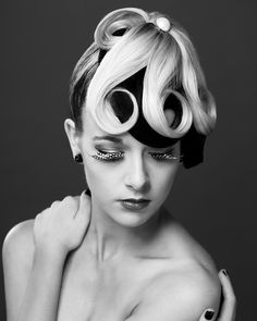 Our students created incredible hairstyles for this amazing photo shoot. | #thegordon #hairdressing #geelong | www.thegordon.edu.au