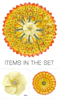 """""""Sunflower Mandala"""" by m-aviles-ma ❤ liked on Polyvore featuring art"""