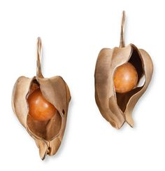 Nature's Jewels | Hemmerle Jeweler Munich~ Chinese Lantern Plant which grows in the Fall(see Plants)