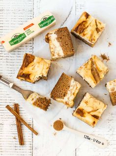 Read our recipe for our carrot cake cheesecake bars which use Kerrygold's Unsalted Butter, perfect for baking with. Cookies And Cream Cheesecake, Carrot Cake Cheesecake, Gluten Free Cheesecake, Cheesecake Bars, Cheesecake Recipes, Great Desserts, Delicious Desserts, Dessert Recipes, Healthier Desserts