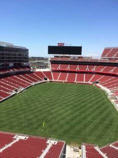 Here's a look at Levi's Stadium from the top of the upper bowl. (Al Saracevic/San Francisco Chronicle)