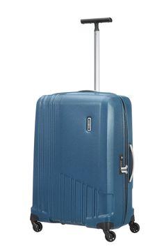X-Pertiz Blue 68cm #Samsonite #Xpertiz #Travel #Suitcase #Luggage #Strong #Lightweight #MySamsonite #ByYourSide