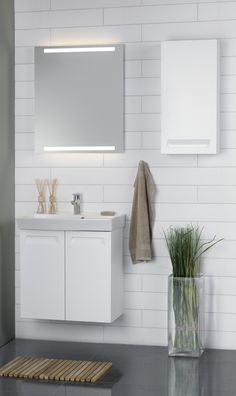 Dansani Mido is ideal use of the space in your bathroom. Check out the beautiful Mido bathroom furniture at Dansani and get inspiration for your bathroom. Bathroom Furniture, Modern Furniture, Bathroom Toilets, Bathrooms, Shower Drain, Small Rooms, Kitchens, Mirror, Inspiration