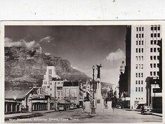War Memorial Adderley Street Cape Town South Africa 1940 Postcard used VGC   eBay