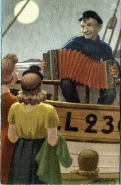 Sailor with Accordion