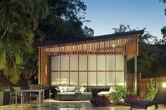 outdoor living space by dsarchitecture