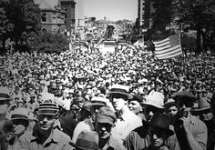 On June 6, 1937. more than 12,000 members of the United Auto Workers, their families and supporters living in Lansing, Michigan, shut down the city.