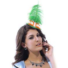 Mini St. Patricks Day Hat Costume Accessory - Green