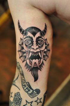 Pentagram with demon Baphomet. Satanic goat head with ...