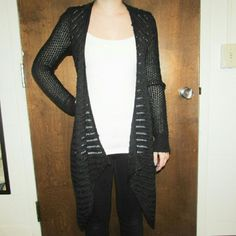 Black Sparkly Cardigan $$OBO$$ CLOSET CLEAR OUT! Taking all offers as long as they are made using the button! (Note i do not accept offers $5 or lower.) Also bundling for a bargain with 20% off 2 or more! American Eagle Outfitters Sweaters Cardigans