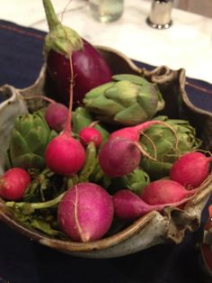 beautiful radishes by paper palate catering