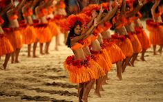 Polynesian dancers in Tahiti. Truly a beautiful sight to see. #legatotravel