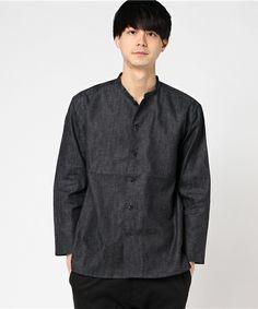【ZOZOTOWN 送料無料】Audience(オーディエンス)のシャツ/ブラウス「綿麻デニムマオカラー9/Sライトジャケット」(aud2769)を購入できます。