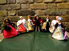 Vintage Peggi Nisbet Costume Dolls Collection King Henry VIII and All His Wives | eBay
