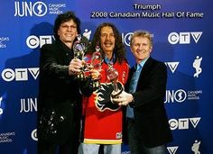 Triumph band | Triumph inducted in 2008 - Canadian Music Hall of Fame.
