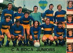 Boca Juniors of Argentina in 1972.
