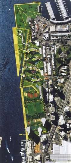 Sydney Darling Harbor Urban Design Competition