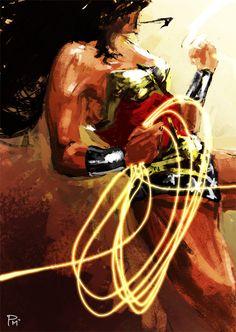 Wonder Woman by Pearlie