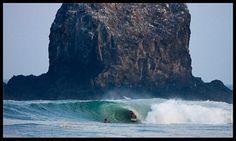 Surfing the Salina Cruz Region of Mexico
