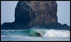 Surfing the Salina Cruz Region of Mexico