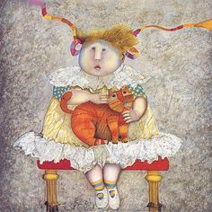 My favorite artist ever.  Graciela Rodo Boulanger