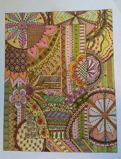 Tangled, Zentangle, Artworks, Vintage World Maps, Quilts, Blanket, Inspiration, Biblical Inspiration, Rapunzel