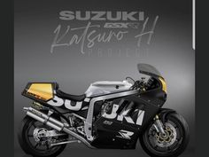 Gsxr 1100, Suzuki Motorcycle, Suzuki Gsx, Mopeds, Cafe Racers, Bikers, Cars And Motorcycles, Old School, Toyota