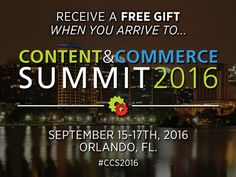 I'm attending #CCS2016… DigitalMarketer's SECOND flagship event... but, this one is JUST for online businesses. You can attend, too! Here's a link to save 70% for a limited time: http://bit.ly/CCS916