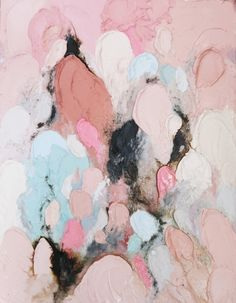 color | blush, pink, navy, and blue | lisa madigan art