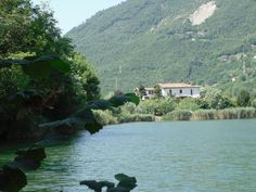 Mountain Lake Lago d'Endine Gaiano (Bergamo-Italy)
