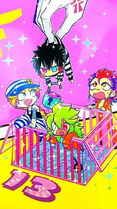 "nanbaka, i gotta admit, the first thing i thought when i saw it for the first time was ""wait, she's a boy?!"""